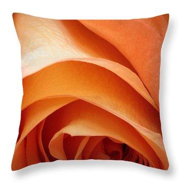 A Pareo Rose Throw Pillow by Joe Kozlowski