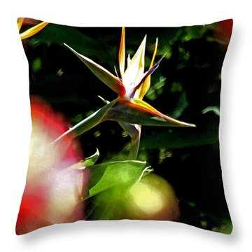 A Paridise Throw Pillow