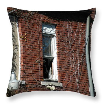 A Past Throw Pillow by Joseph Yarbrough