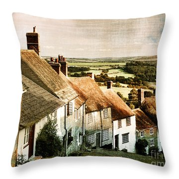 A Past Revisited Throw Pillow