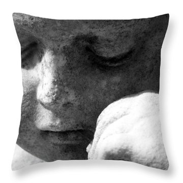 A Peaceful Sleep Throw Pillow