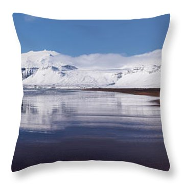 Snowy Throw Pillows