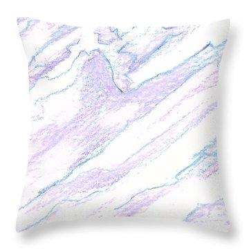 A Piece Of The Alaska Range2 Throw Pillow