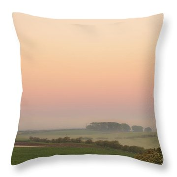 A Place Called Morning Throw Pillow