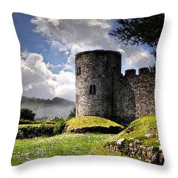 A Place For Kings Throw Pillow