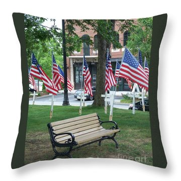 A Place For Refection Throw Pillow