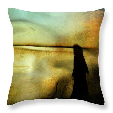 A Place For Thoughts Throw Pillow by Gun Legler