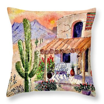 A Place Of My Own Throw Pillow by Marilyn Smith