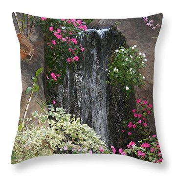 A Place Of Serenity Throw Pillow