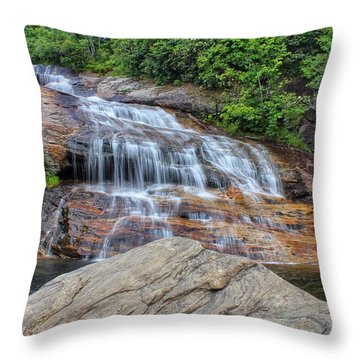 A Place To Cool Off Throw Pillow