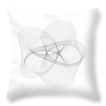 A Plus 3 And B Plus 4 Throw Pillow