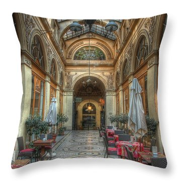 A Priori The Throw Pillow