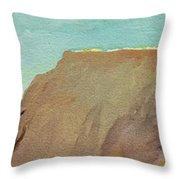 A Private Spot Throw Pillow by Joseph Demaree