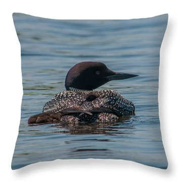 A Proud Mama Throw Pillow