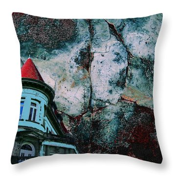 A Pulp Foundation Throw Pillow