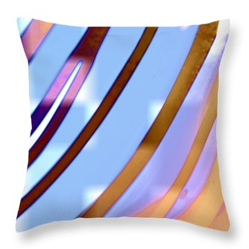 A Quarter Way Throw Pillow