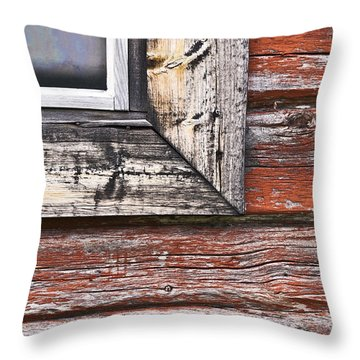 A Quarter Window Throw Pillow by Heiko Koehrer-Wagner