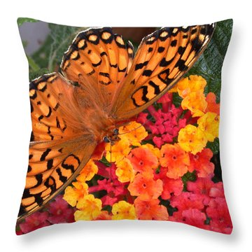 A Quick Snack Throw Pillow