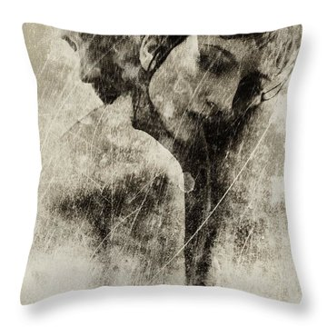 A Rainy Day We Need Closeness Throw Pillow