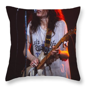 A Real Woman Of The World Throw Pillow