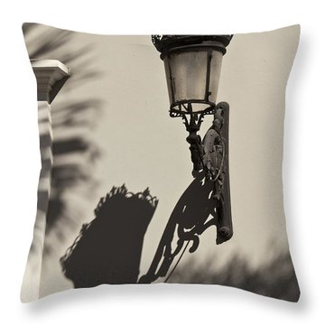 A Reflection On Illumination Throw Pillow