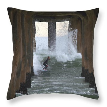A Rite Of Passage Throw Pillow