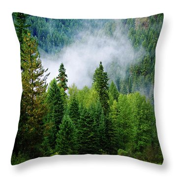 A River Runs Through It  Throw Pillow