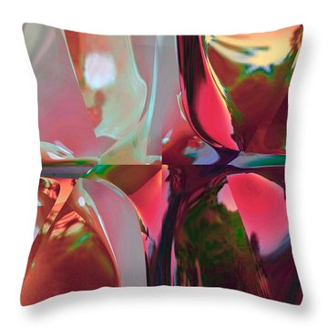 A Room With A View Throw Pillow by Dolores Kaufman