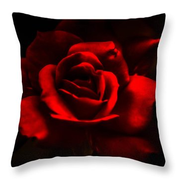 A Rose By Any Other Name Throw Pillow by J Riley Johnson
