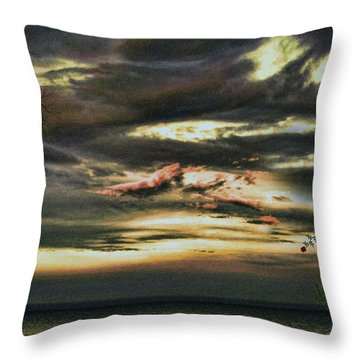 A Rose For My Love Throw Pillow