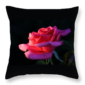 Throw Pillow featuring the photograph A Rose Is A Rose by David Andersen