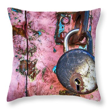 A Rough Ride Throw Pillow