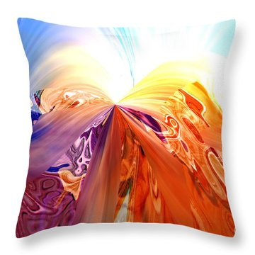 A Royal Priesthood Throw Pillow by Margie Chapman