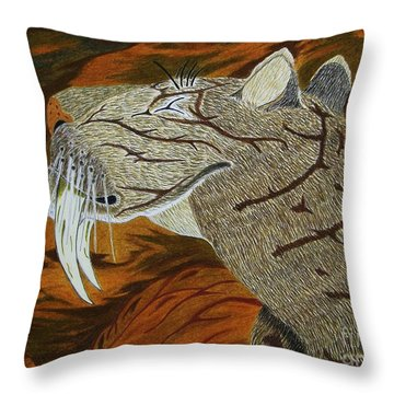 A Scent In The Air Throw Pillow by Gerald Strine