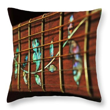 Throw Pillow featuring the painting A Second Passion by Steven Lebron Langston