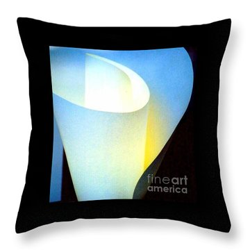 A Shade Of Illumination Throw Pillow by Michael Hoard