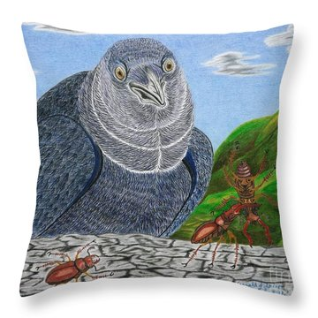 A Short Lived Victory Throw Pillow by Gerald Strine