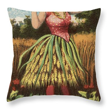 A Shweat Girl Throw Pillow by Aged Pixel