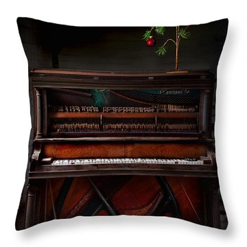 A Simple Christmas No. 1 Throw Pillow