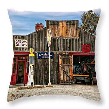 A Simpler Time 3 Throw Pillow