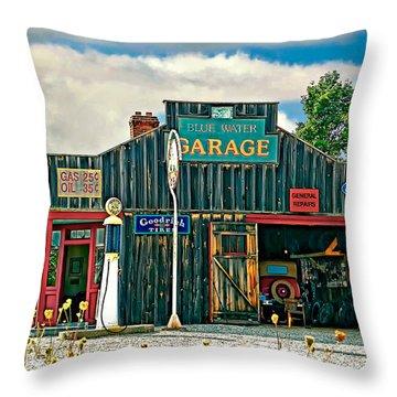 A Simpler Time Throw Pillow by Steve Harrington