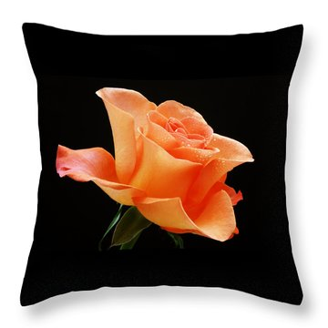 A Single Bloom 1 Throw Pillow