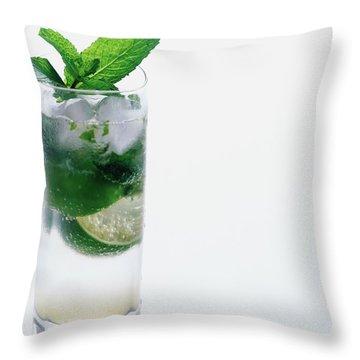A Sloppy Joe's Mojito Throw Pillow