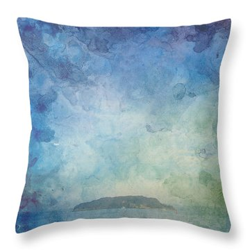 A Small Island Throw Pillow