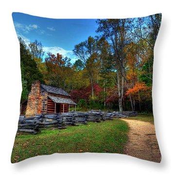 Pioneer Mountains Throw Pillows