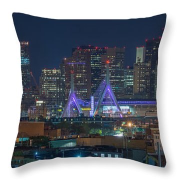 A Somerville View Throw Pillow