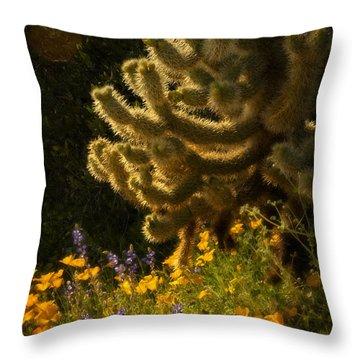 A Southwestern Spring  Throw Pillow