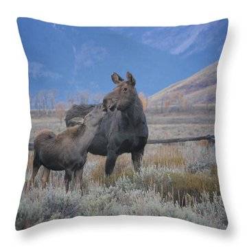 A Special Bond Throw Pillow