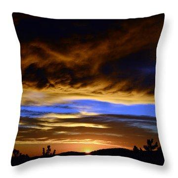 A Spectacular Sunrise Throw Pillow
