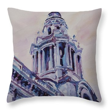 A Spire Of Saint Paul's Throw Pillow